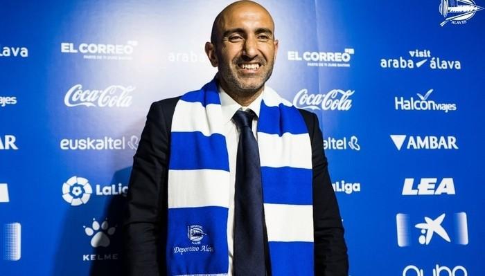 Abelardo es el tercer entrenador del Alavés esta temporada