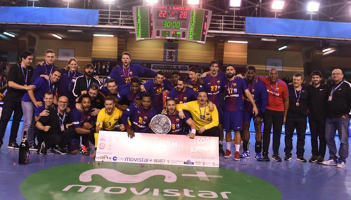 Séptima Copa ASOBAL consecutiva para el Barcelona de balonmano