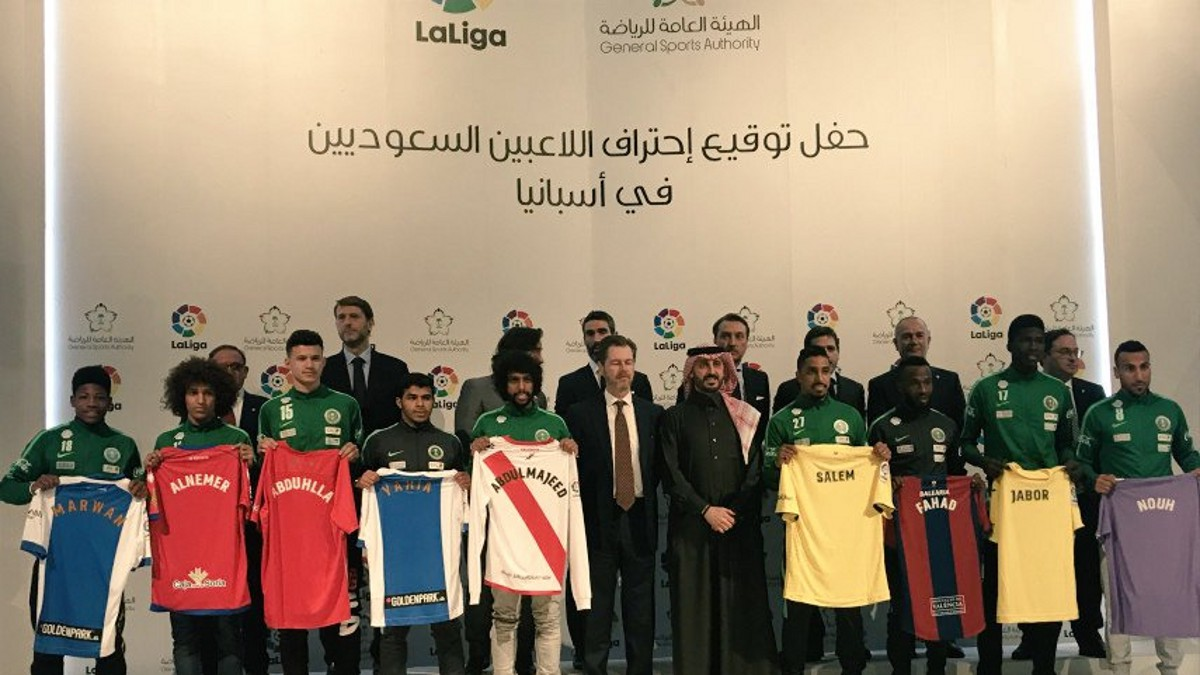 Los jugadores de Arabia Saudí que han llegado a la Liga Española de una tacada