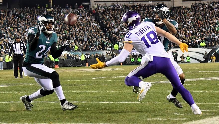 Los Eagles pasaron por encima de los Vikings para cerrar los NFL Playoffs 2018