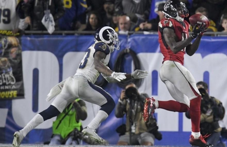 Los Falcons eliminaron a los Rams en la ronda de Wildcards