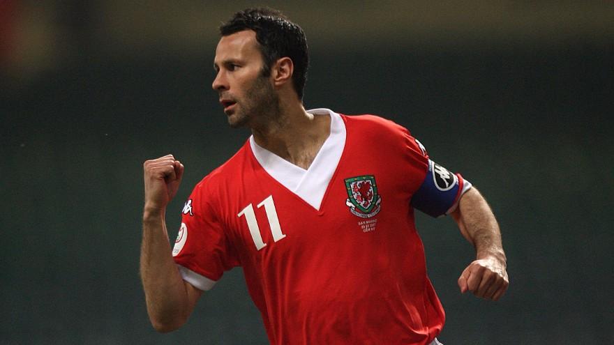 Giggs jugó 64 partidos con la selección de Gales