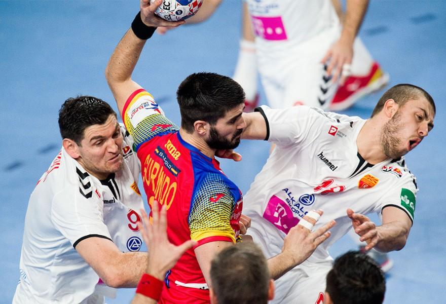 Europeo de balonmano 2018: España estrena la segunda fase con una clara victoria sobre Macedonia