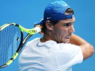 Kooyong 2018: Rafa Nadal cae ante Gasquet en primer duelo de exhibición