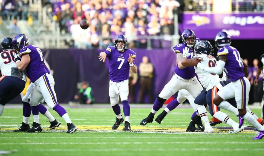 Los Vikings esperan jugar la Super Bowl en casa