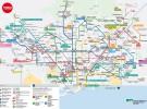 Plano Red de Metro Barcelona