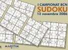 I Campeonato de Sudoku