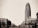 Foto: Torre Agbar hace 140 años