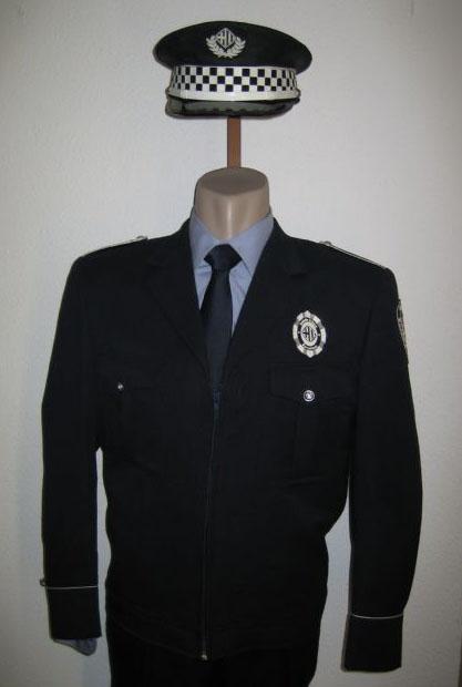 Primer Uniforme de la Policía Local en Barcelona