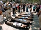Protesta antitaurina en las Ramblas