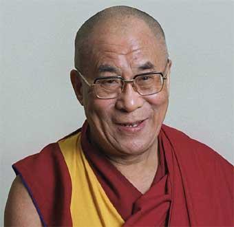 Dalai Lama en Barcelona