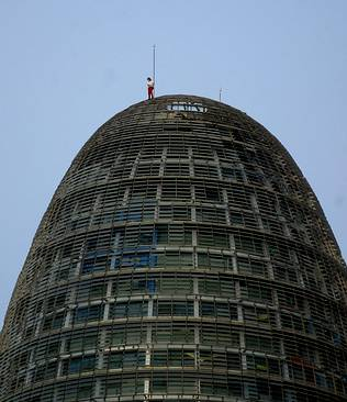 Escalando la Torre Agbar