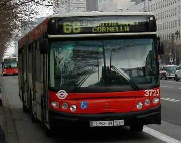 autobus Barcelona