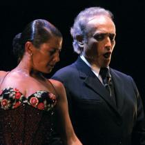 Sara Baras y Josep Carreras