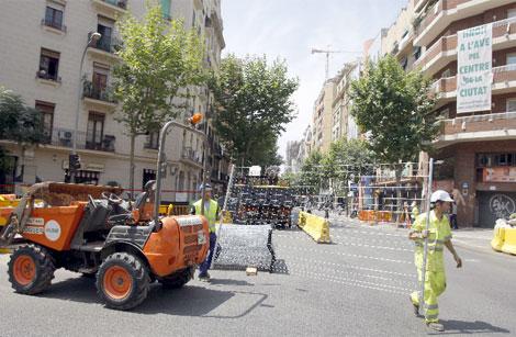 Obras en Barcelona