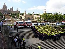 Nuevos policias y bomberos