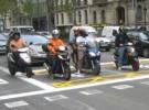 No se podrá aparcar con moto en el Poblenou