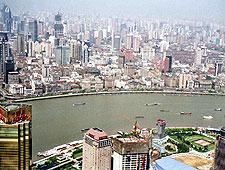 La ciudad de Xangai