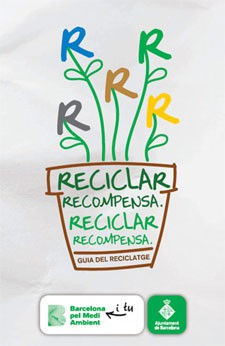 El Ajuntament distribuye una guía sobre el reciclaje de residuos