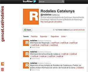 Rodalies de Catalunya entra en el mundo del twitter