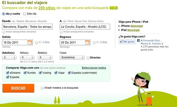 Buscador Liligo