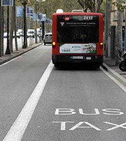 Las líneas de bus 31, 35, 105 y 158 de Barcelona se eliminan