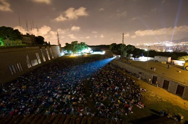 X Ciclo de cine al aire libre en Montjuïc