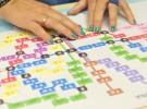 Nuevo plano de la red de metro de Barcelona en Braille
