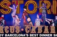 El Astoria te ofrece la posibilidad de cenar en un auténtico cabaret