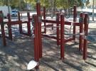 El distrito de Sant Martí inaugura un circuito de gimnasia para los mayores