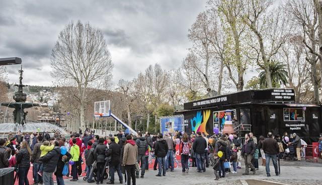 Este fin de semana la feb trae su road show a barcelona for Eventos en barcelona este fin de semana