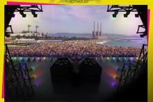 Barcelona a punto para el primer Barcelona Beach Festival ¿Quieres ir?
