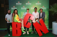 Heineken presenta 'Open Your City' en Barcelona