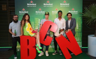 Heineken presenta 'Open Your City' en Barcelona
