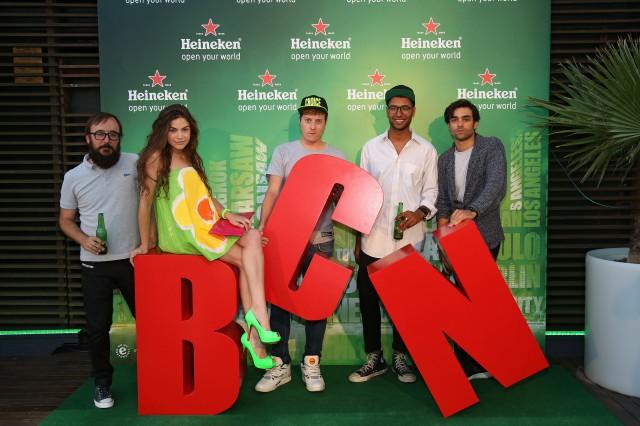 Heineken open your city BCN