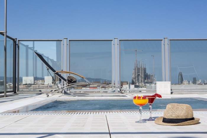 Vistas Terraza Majestic Hotel Barcelona