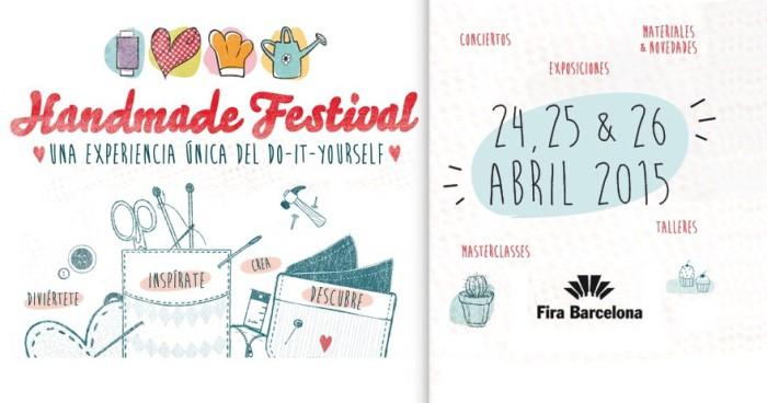 Cita para los amantes del DIY: Handmade Festival Barcelona