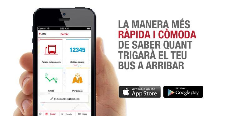 App AMBtempsbus, conoce cuándo llegará el autobús metropolitano en tiempo real