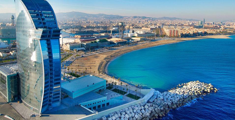 Hoteles con 5 estrellas en Barcelona