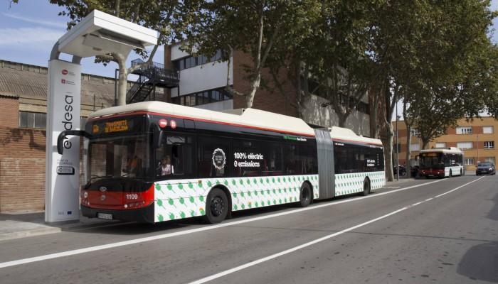 autobus electrico barcelona