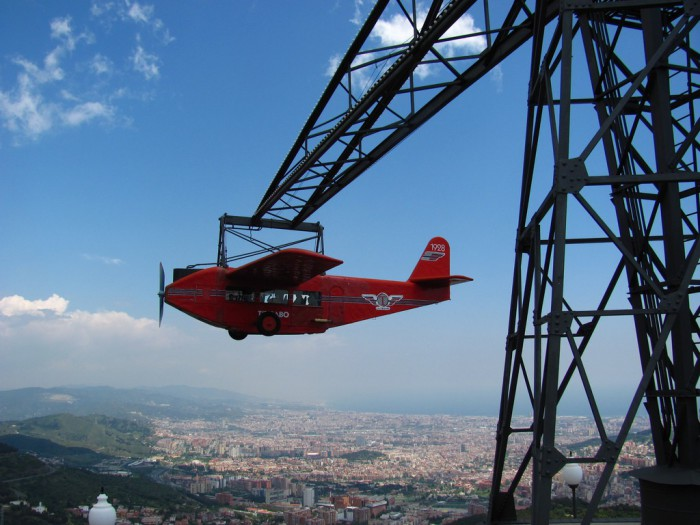El Avion Tibidabo BCN