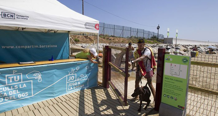 Playas de barcelona para perros 2