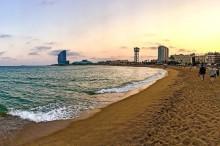 Las playas de Barcelona, calidad, sol y baños en el Mediterráneo