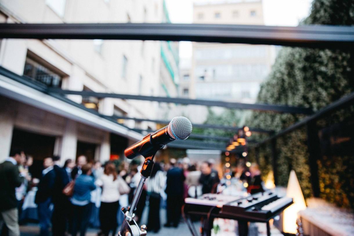 La musica en vivo vuelve a las noches de la  terraza de Gallery Hotel en julio