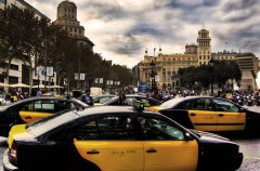 Si tienes que coger un taxi, atento a la huelga del día 27 de julio