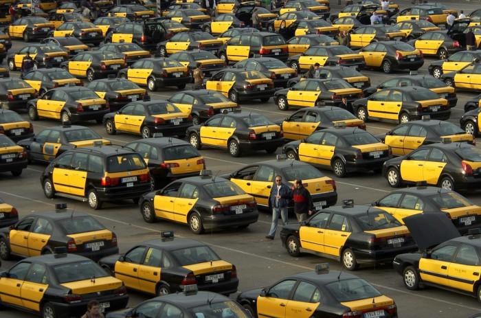taxi-huelga-barcelona