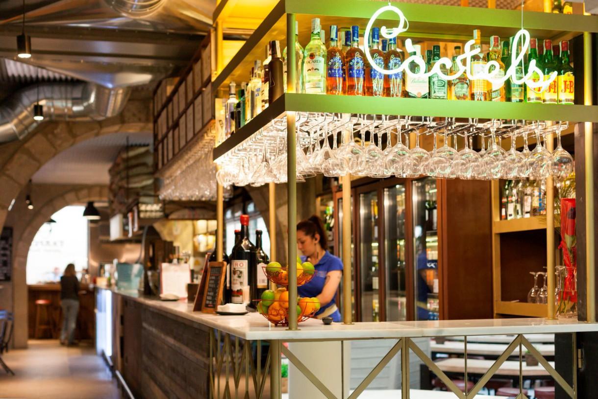 El Mercado Princesa, un espacio gastronómico en el corazón de un palacio de El Born