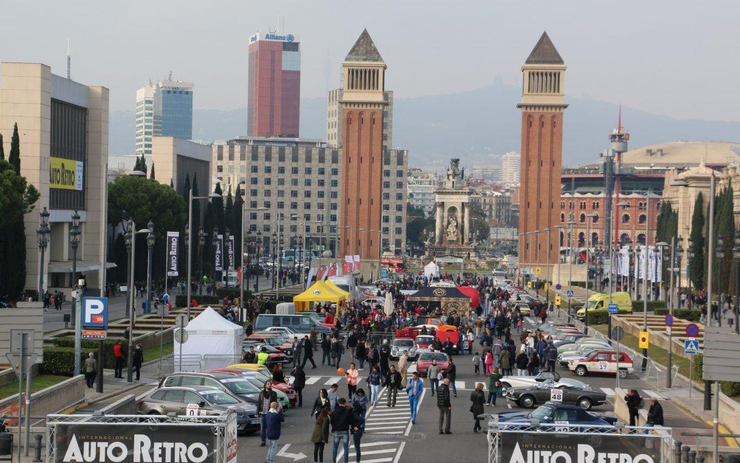 Los coches clásicos llegan a Barcelona gracias a AutoRetro Barcelona