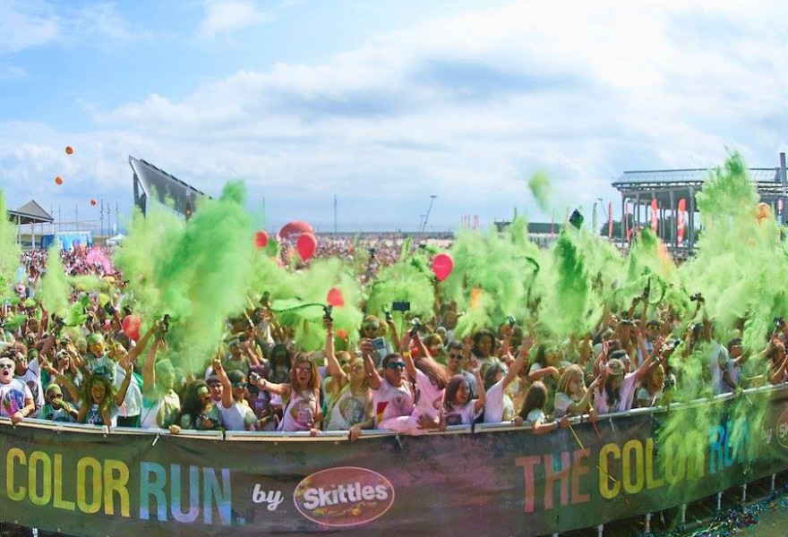 The Color Run llenará Barcelona de color y risas muy deportivas