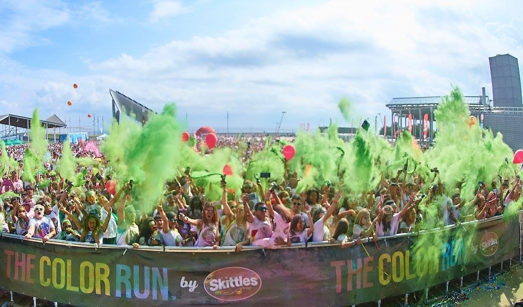 The Color Run llenará Barcelona de color y risas muy deportivas